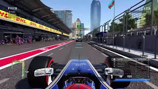 【F1 2017】Multiplayer crash game in Baku [Cool's Gaming] #1