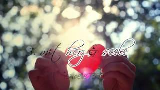 Mein Herz hoert auf zu schlagen ... -