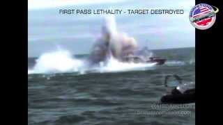 700 HP Speedboat Can't Outrun the Brimstone Missile