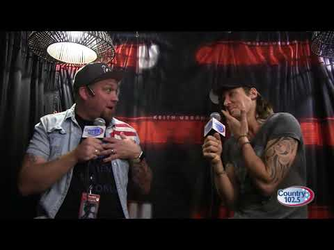 Keith Urban Interview