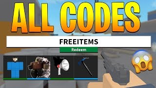 ALL *WORKING* CODES IN ARSENAL! (Roblox)