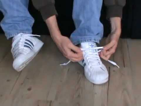adidas superstar sciogliere i lacci su youtube