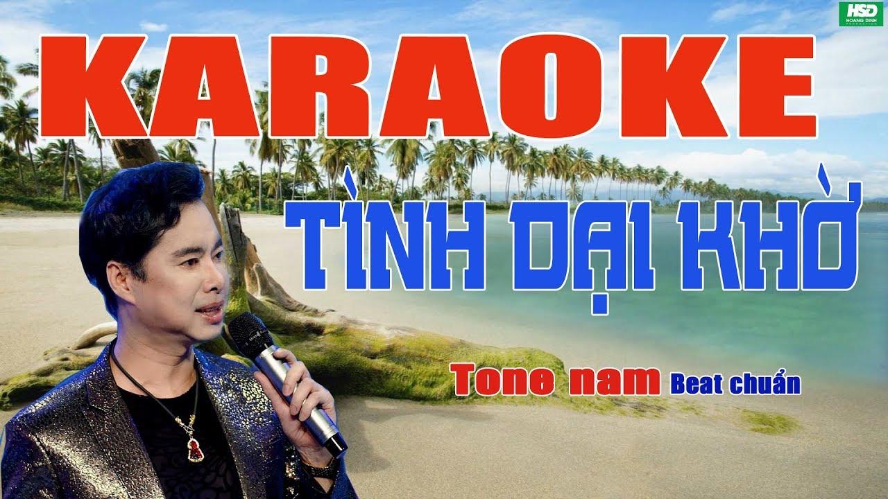 Karaoke TÌNH DẠI KHỜ - Ngọc Sơn - Karaoke Hoàng Đỉnh – Karaoke Beat chuẩn full Band
