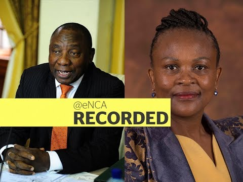 Judgment to be delivered in Mkhwebane-Ramaphosa CR17 saga
