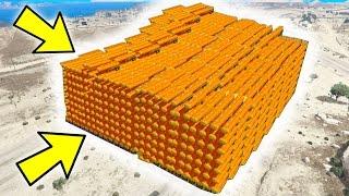 WILL 1000+ BOMBS BREAK GTA 5? (World Record?)