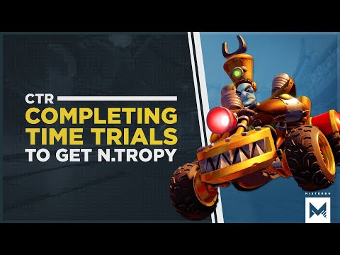 Crash Team Racing Nitro-Fueled: Completing All Of The Time Trials To Unlock N. Tropy