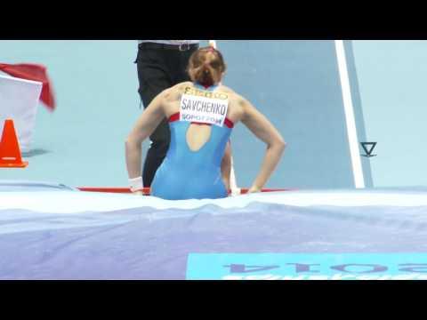 Anastasia Savchenko 2014, a Russian female pole vaulter