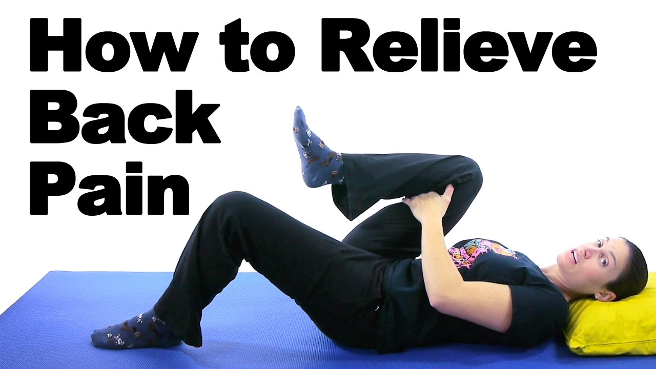 Back Pain Relief Exercises u0026 Stretches  Ask Doctor Jo