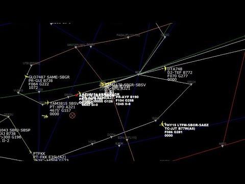 Radar e Escuta Aérea ao vivo com o tráfego aéreo em São Paulo from YouTube · Duration:  6 hours 18 minutes 58 seconds