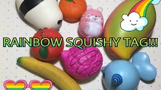 RAINBOW SQUISHY TAG :v ❤️