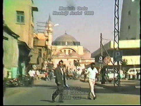 Konya 1988 Yili ( Sila Izin Yolu ) Türkiye Yollari