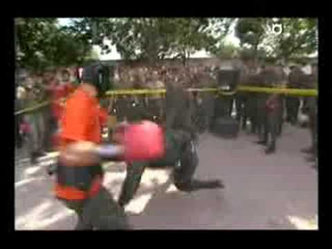 Man's Work-Colombian National Police pt1