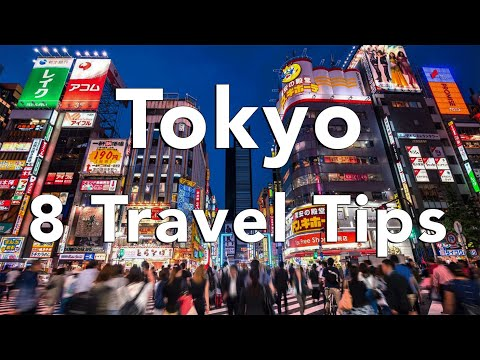 "8 Tips for an EPIC trip to Tokyo - ""Matt's Travel Tips"""