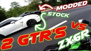Modded GTR Walks ZX6R Like a BOSS!!!