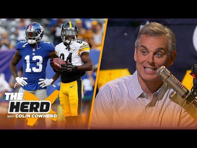 Colin Cowherd criticizes Antonio Brown, OBJ and Diva WR's, talks McCarthy's value | NFL | THE HERD