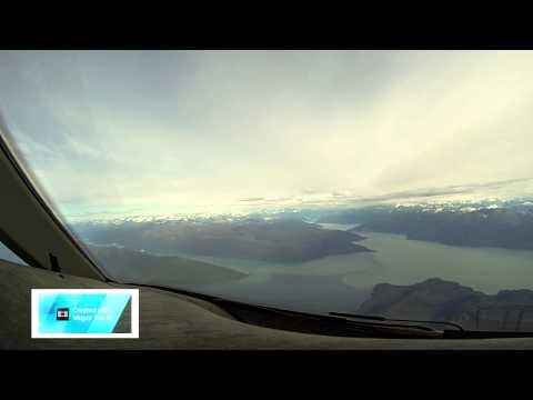 Approach Juneau Alaska