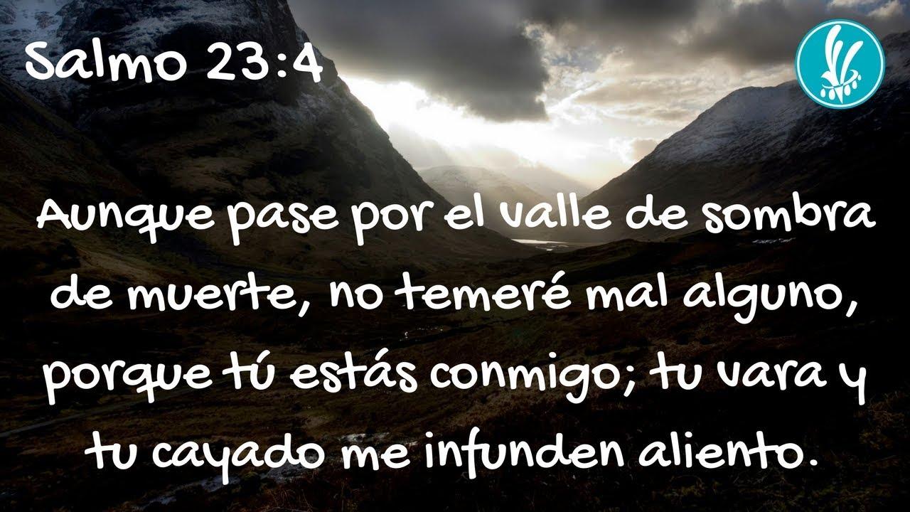 Excepcional Salmo 23:4 - YouTube DZ71