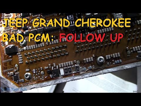 Jeep Grand Cherokee Failed PCM : FOLLOW UP
