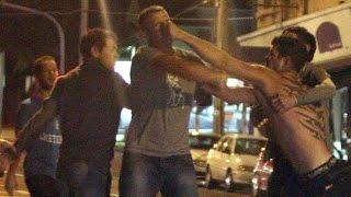 WTF.(Crazy street fight)
