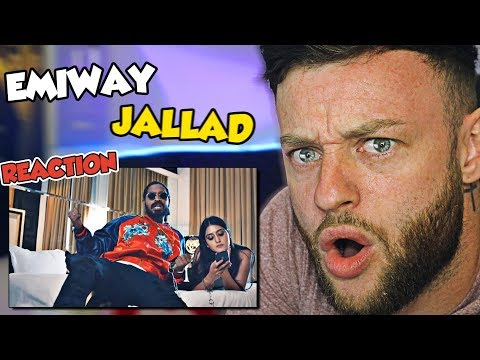 FIRST TIME Reaction To Emiway - Jallad  ( HELP )