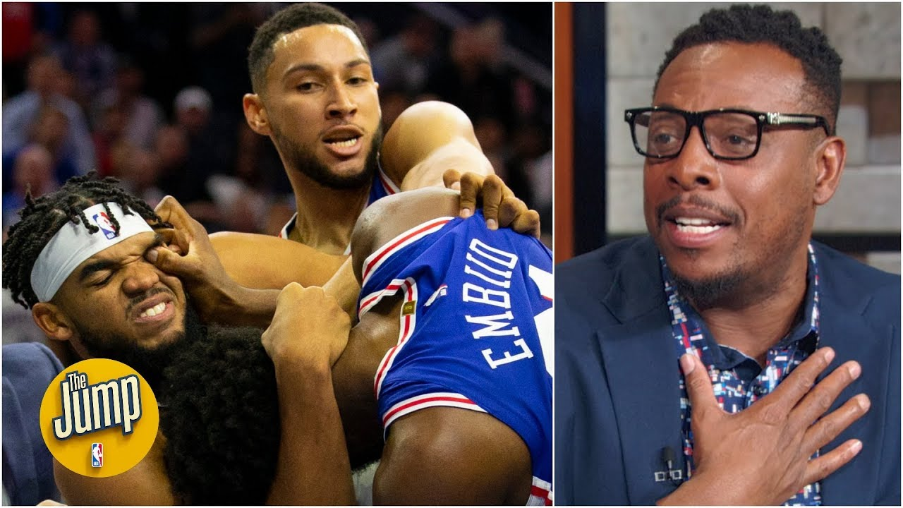 Ben Simmons should have been suspended for choking Karl-Anthony Towns - Paul Pierce | The Jump