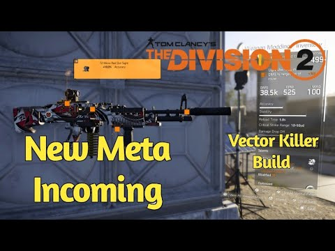 The Division 2 - *New Meta Incoming* The 38.5k Base M60 Vector Killer Build (with Gameplay) thumbnail