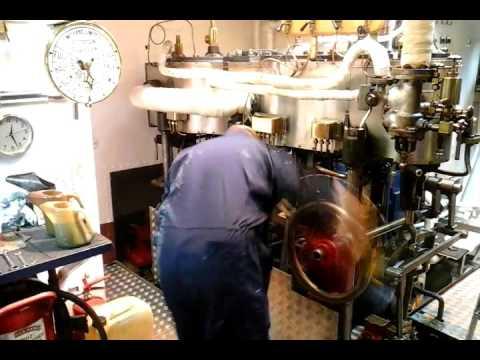 Steamship Sir Walter Scott Engine