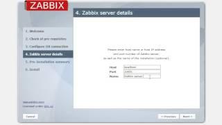 How to install zabbix web inteface