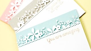 Partial Die Cut Borders