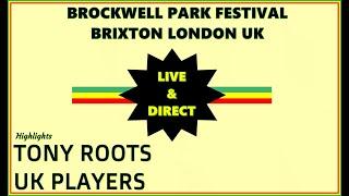 TONY ROOTS / UK PLAYERS / Brockwell Park, Brixton UK early 2000