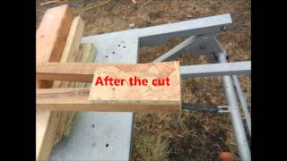 Shed For The Small Tractor Movie 1-2-2012.wmv