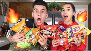 2X SPICY NOODLE + HOTTEST CHIPS CHALLENGE!!