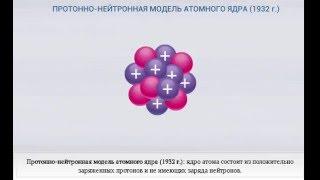 Строение ядра атома