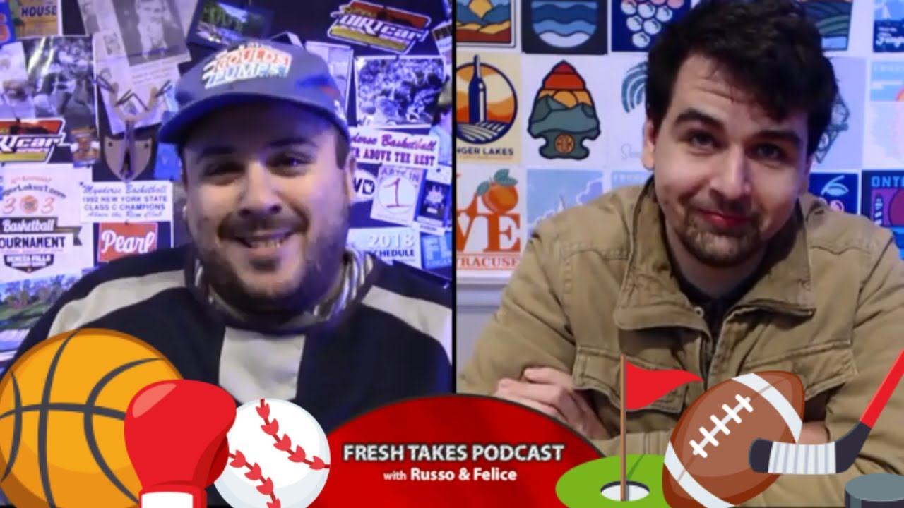 Tiger's Back & All-Time Favorite Sports Fights .::. Fresh Takes w/ Russo & Felice 4/16/19