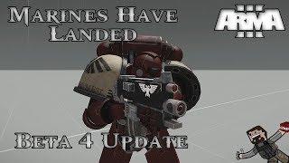 ARMA 3 - Warhammer 40k Mod (Beta 4 Update) Space Marines Have Landed