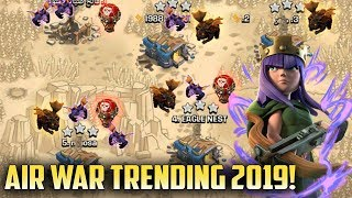 Air War Trending 2019! Queen Walk With LavaLoonion TH12 Attack Strategy 2019 | Clash Of Clans