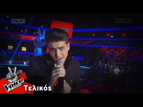 Δημήτρης Θεοδοσιάδης - Το κύμα | Τελικός | The Voice of Greece
