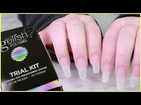 Trying Polygel From Gelish Dip Nails Update
