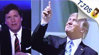 Tucker Carlson Makes Fun Of Trump Over Eclipse