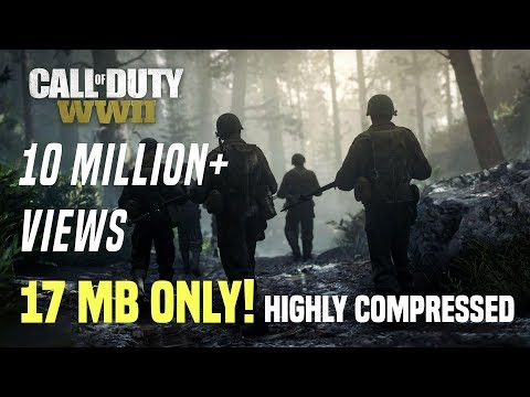 (17MB) Download Call Of Duty Ww2 Highly Compressed In Pc