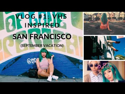San Francisco Vlog: DAY 1 Visited Haight Ashbury/Music Store/Painted ladies/etc