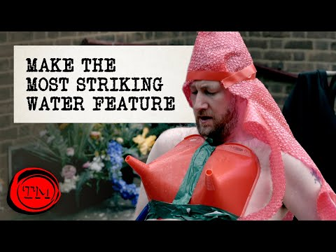 Make The Most Striking Water Feature | Full Task | Taskmaster