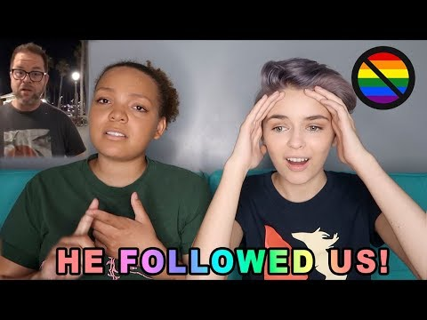 STORYTIME: GUY HARASSES US FOR BEING GAY! *Video Proof*