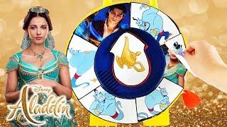 Find the Genie Spinning Wheel Game Disney Aladdin 2019