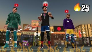THE *BEST* SLASHER BUILD IN THE GAME! Streaking w/ 2HYPE! NBA 2K19 MyPark #1
