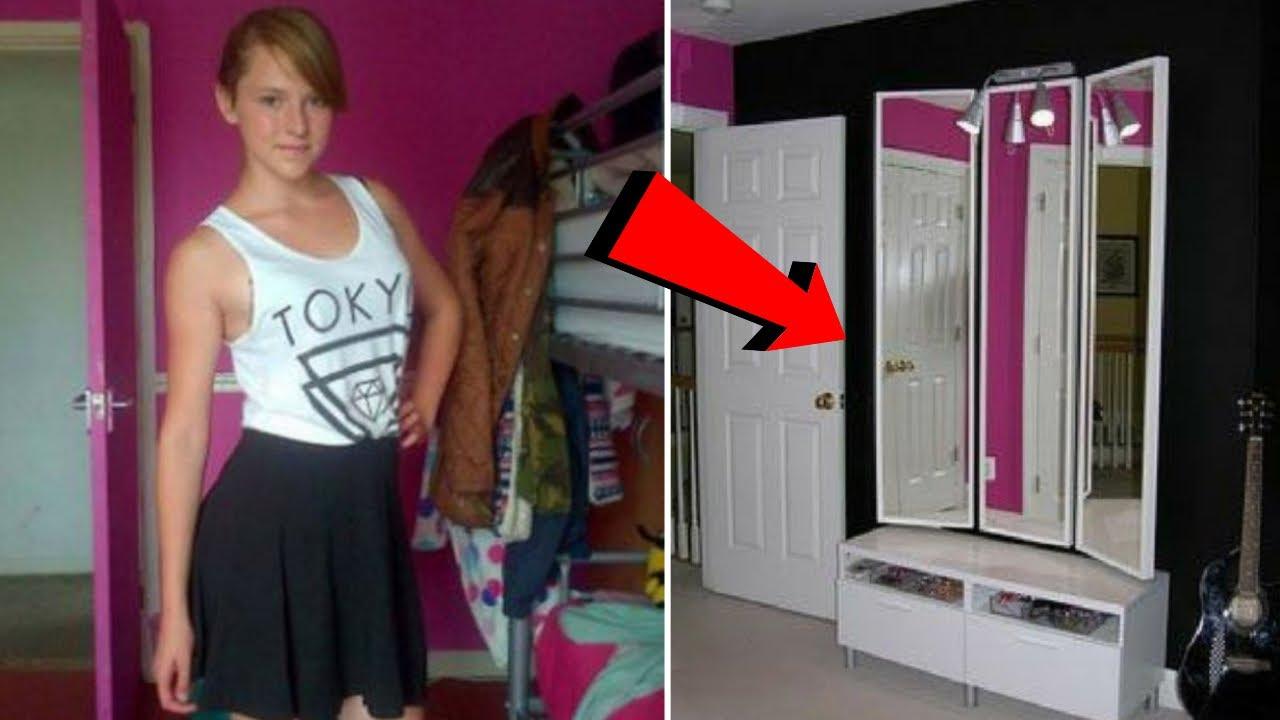 Babası Kızının Odasındaki Aynayı Kaldırdığında Arkasında Büyük Bir Sır Açığa Çıkardı