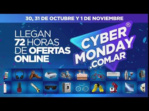 Llegaron 72hs de Ofertas Online - Cyber Monday 2017 Argentina