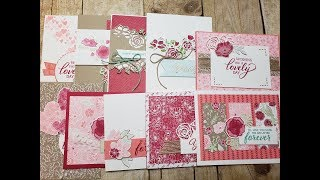 10 Cards 1 Suite | Stampin' Up! All My Love Suite | Occasions Catalog 2019