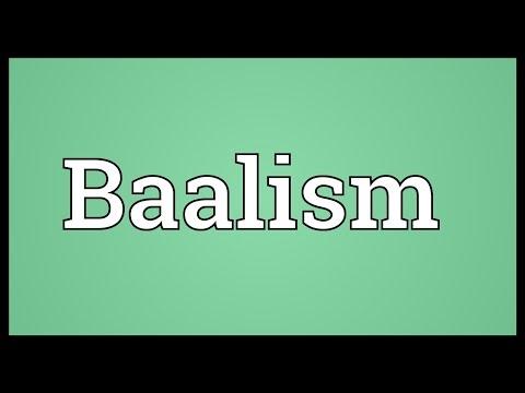 Header of Baalism
