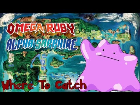 How Amp Where To Catch Ditto In Pokemon Omega Ruby And Alpha